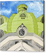 The Handley Library - Winchester Series Acrylic Print