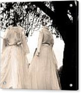 The Hanging Brides  Acrylic Print