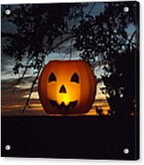 The Hanging Pumpkin Acrylic Print