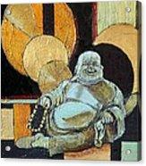 The Happy Buddha Acrylic Print