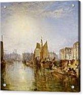 The Harbor Of Dieppe Acrylic Print