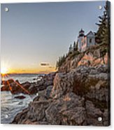 The Harbor Sunset Acrylic Print