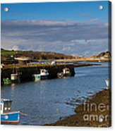 The Harbour At Hayle Cornwall Acrylic Print