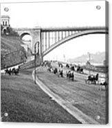 The Harlem River Speedway Acrylic Print
