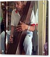 The Harp Man Acrylic Print