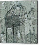 The Harp Player Acrylic Print