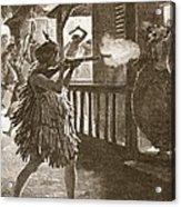 The Hauhaus Shot Or Bayoneted Them - Acrylic Print