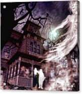 The Haunting Of Blackthorne Manor  Acrylic Print