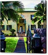 The Hawaiian Palace Acrylic Print