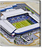 The Hawthorns - West Bromwich Albion Fc Acrylic Print