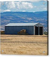 The Hay Shed Acrylic Print