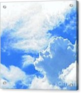 The Head In The Clouds Acrylic Print