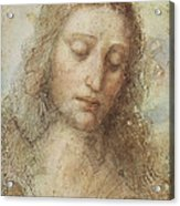 The Head Of Christ Acrylic Print