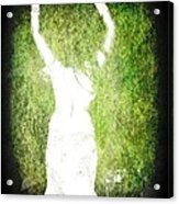 The Headless Woman Acrylic Print by Peter Waters