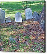 The Headstones Of Slaves Acrylic Print
