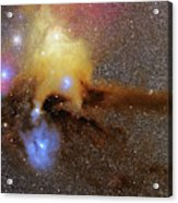 The Heart Of Scorpius Antares Region Acrylic Print