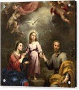 The Heavenly And Earthly Trinities Acrylic Print