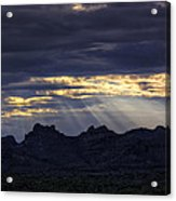 The Heavenly Light  Acrylic Print