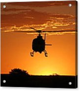 The Helicopter Acrylic Print