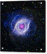 The Helix Nebula Acrylic Print by Adam Romanowicz