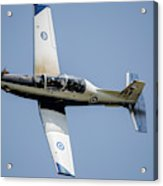 The Hellenic Air Force Daedalus Demo Acrylic Print