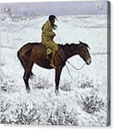 The Herd Boy Acrylic Print