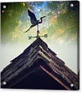 The Heron Vane Acrylic Print