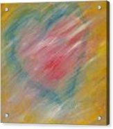 The Hidden Heart Acrylic Print