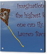 The Highest Kite Acrylic Print