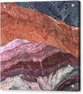 The Hill Of Seven Colors Acrylic Print