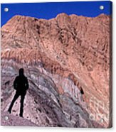 The Hill Of Seven Colours Jujuy Argentina Acrylic Print