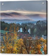The Hills Acrylic Print by Bill Wakeley