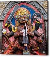 The Hindu God Shiva Acrylic Print