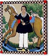 The Hobby Horse Acrylic Print