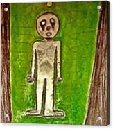 The Hollow Men 88 - Lone Idea Acrylic Print