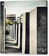 The Holocaust Memorial Berlin Germany Acrylic Print