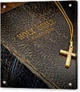 The Holy Bible Acrylic Print