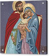 The Holy Family For The Holy Family Hospital Of Bethlehem Acrylic Print