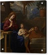 The Holy Family In Egypt Acrylic Print