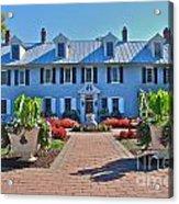 The Homestead Birthplace Of Milton Hershey Acrylic Print