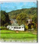 The Homestead Country Club Acrylic Print