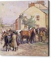The Horse Fair  Acrylic Print by John Atkinson