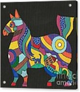 The Horse Of Good Fortune Acrylic Print