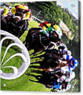 The Horse Race Acrylic Print