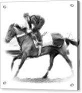 The Horseman Acrylic Print