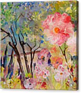 The House Of The Rising Flowers Acrylic Print