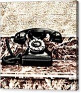 The House Phone Acrylic Print