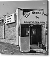 The House That Bruce Built II - The Stone Pony Acrylic Print