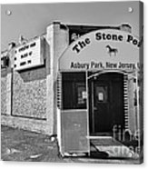 The House That Bruce Built - The Stone Pony Acrylic Print