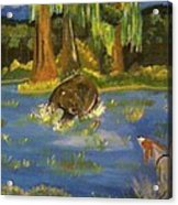 The Hunting Of The Bear Acrylic Print